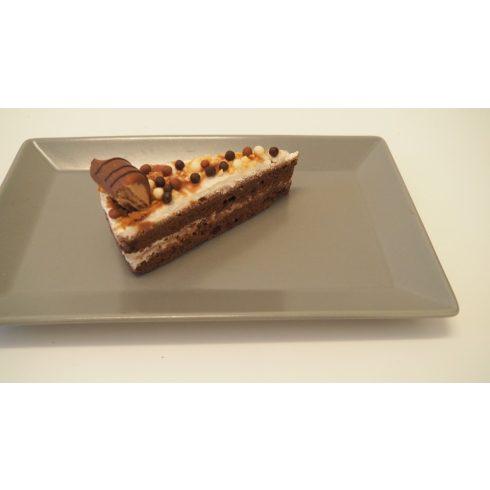 Kinder Bueno torta szelet